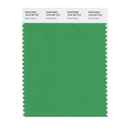 pantone kelly green