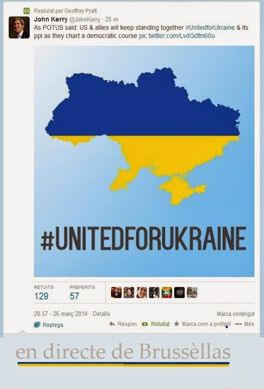 Ucraïna en directe de Brussèllas