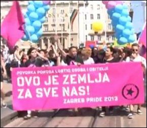 Croácia união gay