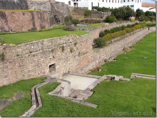 Ruínas de Qoricancha, o Templo do Sol - Cusco