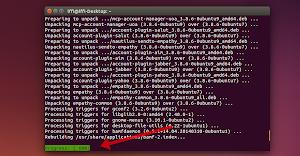 Ubuntu - barra dei progressi di apt