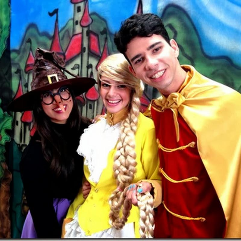 """Polo Teatro traz o clássico """"Rapunzel"""", em duas apresentações"""