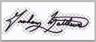 graham matthews signature