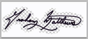 graham matthews signature