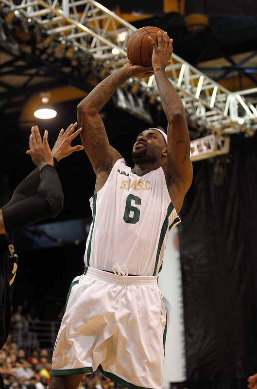 LeBron Debuts New Shoes at South Florida All Star Classic Game