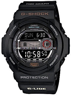 CASIO G-SHOCK G-LIDE 2012 SUMMER WATCHES GLX150  GWX8900B SURF TIDAL GRAPH WAVES SPRING SUMMER FALL WINTER G-FACTORY SINGAPORE matte black, white, blue orange