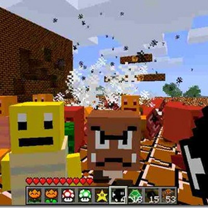 Minecraft 1.2.5 - Super Mario Mod