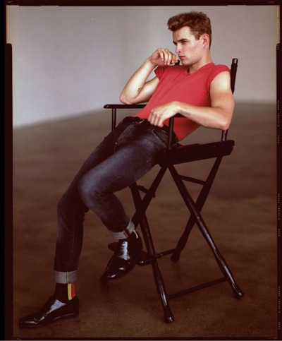James Prestion as James Dean by Alexei Hay for Visual Tales Magazine #5, 2011. Styled by David Vandewal