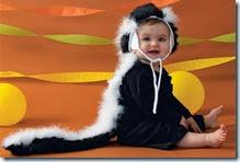 mofeta bebe disfraz