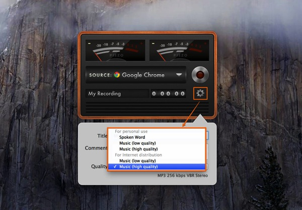Sample2mac app music piezo