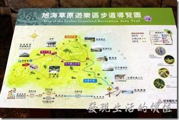 旭海遊客中心內有關於牡丹鄉及旭海的介紹。