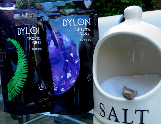 DYLON PURPLE AND GREEN