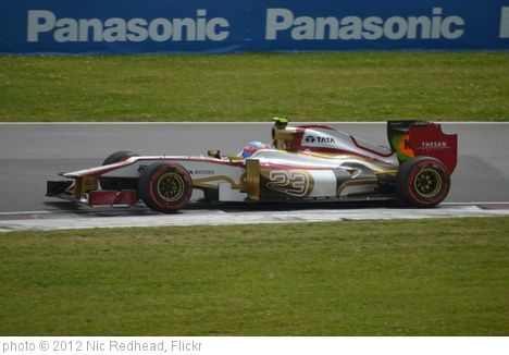 'Narain Karthikeyan' photo (c) 2012, Nic Redhead - license: http://creativecommons.org/licenses/by-sa/2.0/