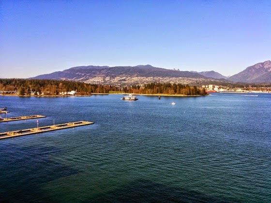 Vancouver Convention Centre yielded stunning views during the Festival