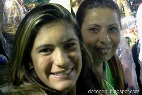 Eduarda e a mãe
