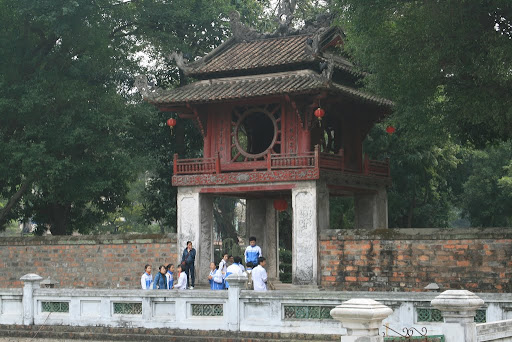 One of the inner gates of the Temple of Learning.