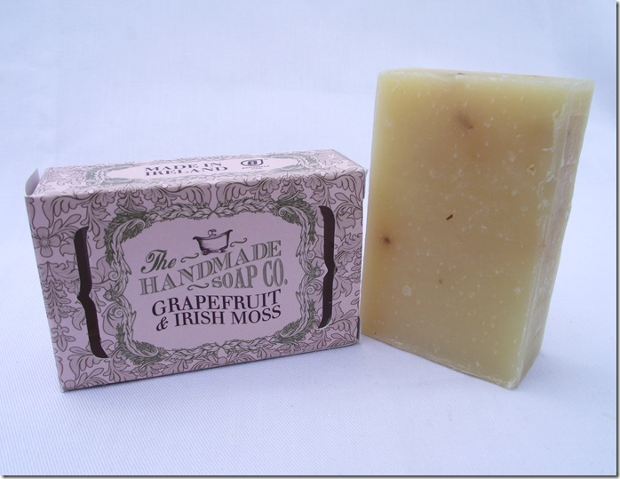 the handmade soap co grapefruit and irish moss soap (2)
