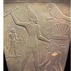 32 - Detalle de la Paleta de Narmer
