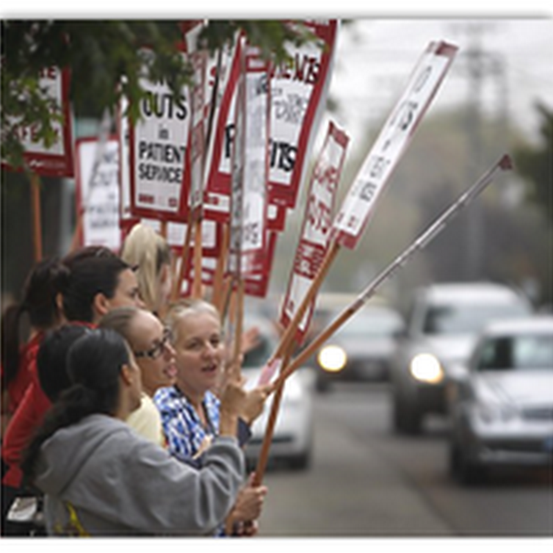 Patient Dies Due to Medical Error at Hospital in Oakland Where Fill In Nurses Were On Duty During Nurses Strike