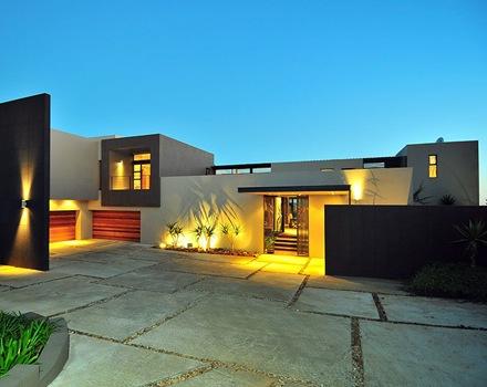 Casas modernas fachadas imagui for Casa moderna wallpaper
