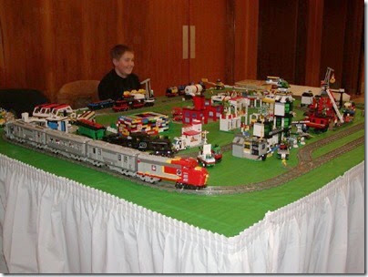 46 Lego Layout at TrainTime 2003 2