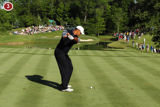 tiger woods swing finish. Tiger Woods Swing Sequence