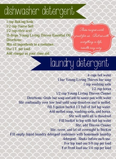 detergent recipes