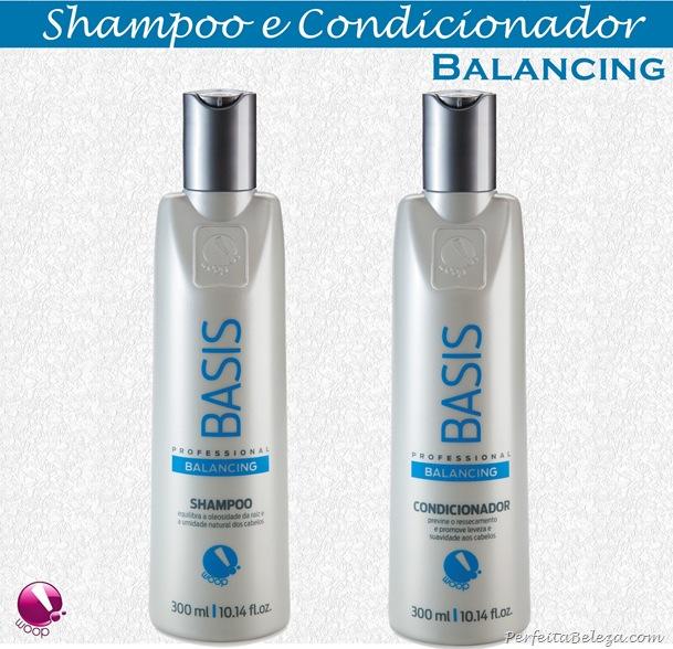 Shampoo e condicionador woop! cosméticos