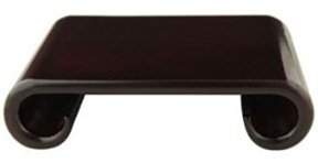 Japanese-Chinese rectangular rosewood display stand