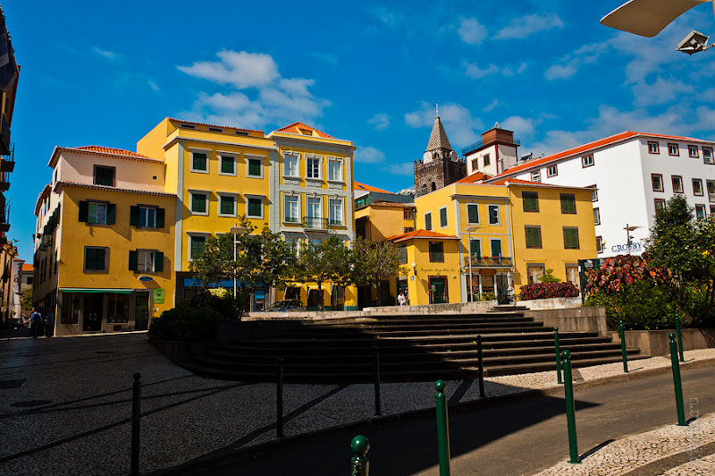 9. Фотопрогулка по улицам города. Улочки. Фуншал. Мадейра. Португалия. Круиз на Costa Concordia.