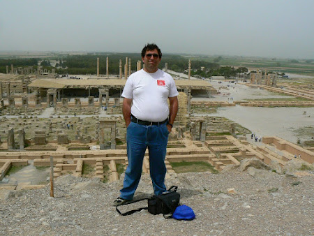 Things to see in Persepolis: panorama from the tombs