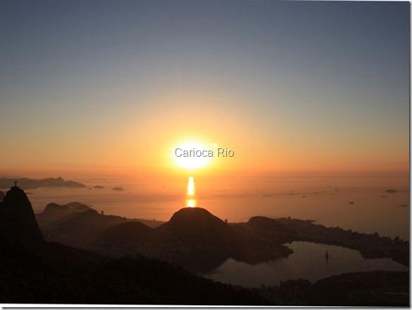 Primeiro dia do verão no Rio tem temperatura máxima de 36