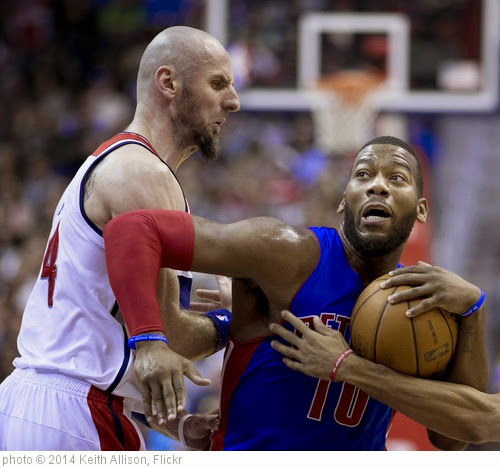 'Greg Monroe' photo (c) 2014, Keith Allison - license: https://creativecommons.org/licenses/by-sa/2.0/