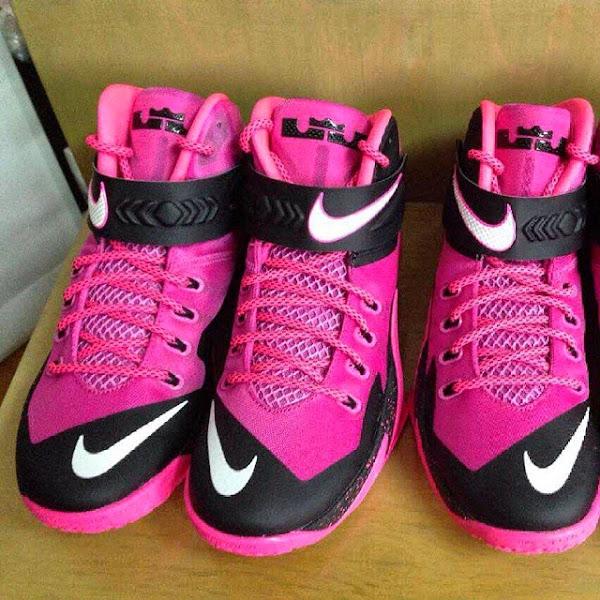 Nike Zoom Soldier VIII 8211 Think Pink 8220Kay Yow8221