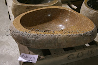 Boulder Sink -  Light Polished Rim Vessel Sink