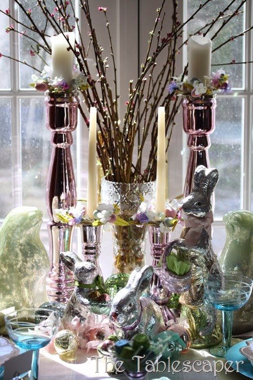 Tablescape Sparkling Easter - The Tablescaper09