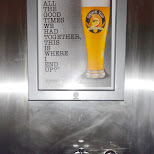 after all the good times we had together - ShockTop in Toronto, Ontario, Canada