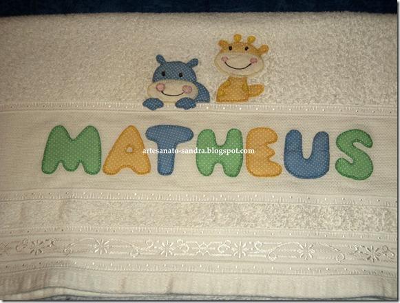 toalha Matheus