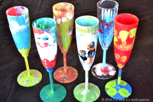 kid craft glass paint