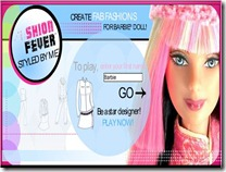 Jogos de costurar - Fazer roupa da barbie