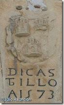 Blasón con el escudo del pueblo - Dicastillo