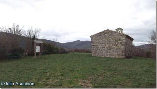 Ermita de San Román - lugar donde se acordó la paz de Aoiz
