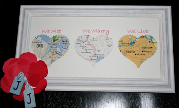 Anniv Map Gift