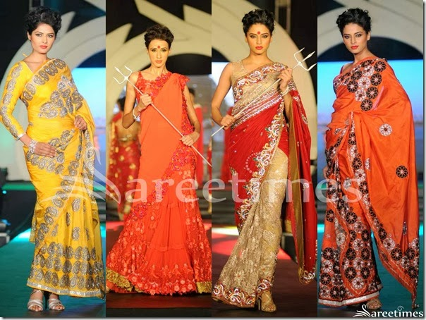 Rohit_Verma_Saree_Collection_2014