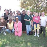 Baltimore Women's Retreat in September 2007 at Holy Trinity Center (outdoor)