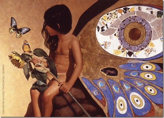La Reina de las Mariposas-Gabriel Picart