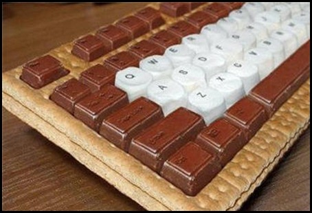 5 chokladkeyboard