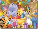Quebra-cabeça da festa do Pooh