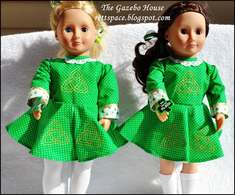 Irish Step-Dance Doll Dress 001 GH
