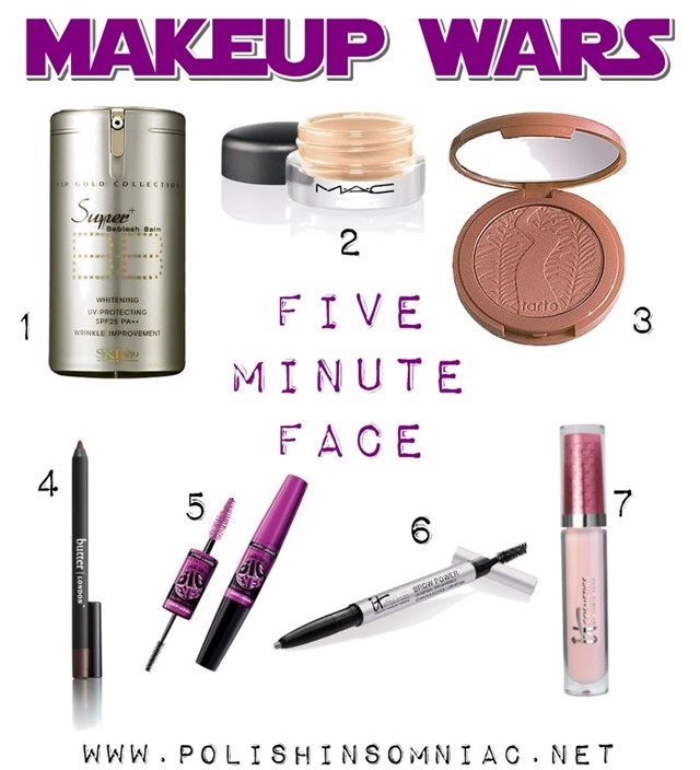 Makeup Wars 5 Minute Face